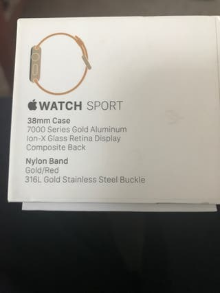 Apple watch serie 1 sport