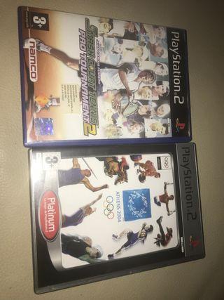 Juegos tenis + Juegos olímpicos Play2