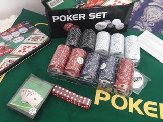 Juego póker nuevo sin abrir