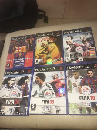 Pack Juegos FIFA Play Station2