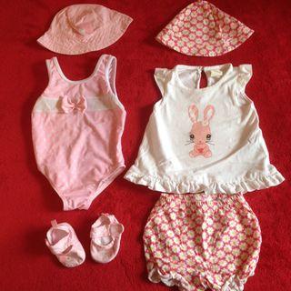 Lote bebé ropa verano