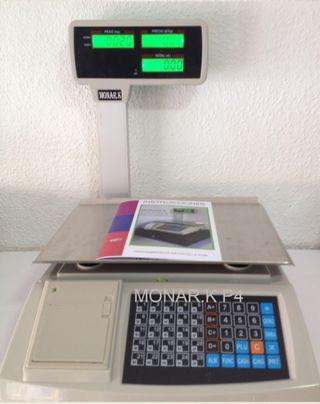 Bascula balanza nueva ticket p4 peso 30kg