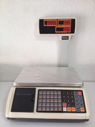 Bascula balanza 1000 plus nueva ticket peso 30kg