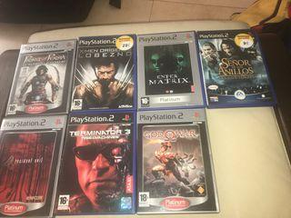 Pack juegos películas Play 2