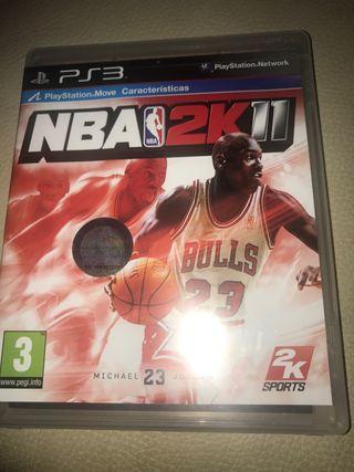 Juego NBA 2011 Play Station 3