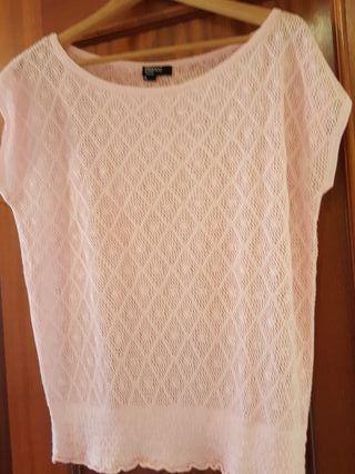 camiseta talla s Blsnco tricot