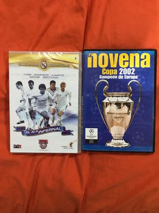 Lote 2 dvds REAL MADRID