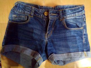 pantalon niña zara