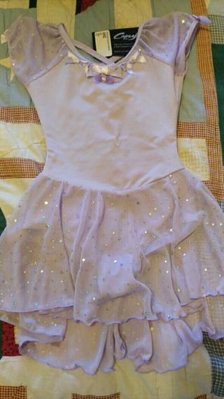 capezio peasant sleeve dress