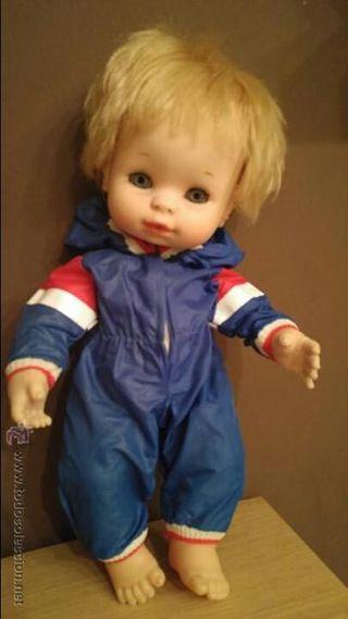 Muñeco Baby mocosete año 1970