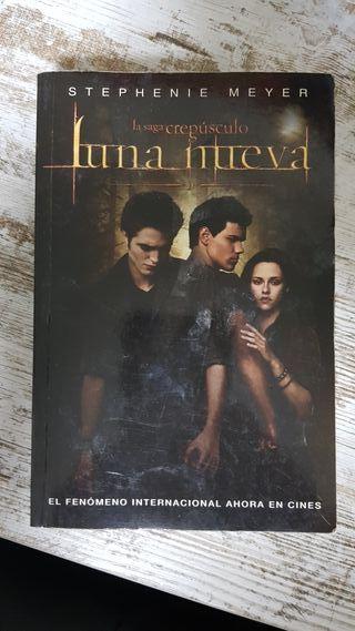 Libro Crepusculo Luna Nueva
