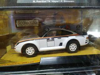 Porsche Raid blanco Scaleauto nuevo