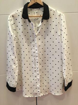 Camisa Zara Nueva mujer Talla XL