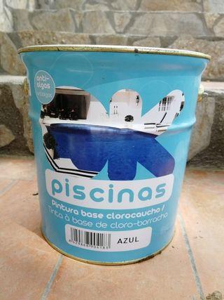 Pintura Piscinas Azul