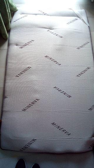 suplemento colchón minerva