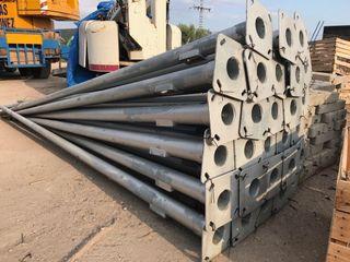 Farola poste luz 5 m galvanizada nuevas alumbrado
