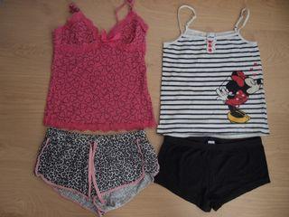 Lote pijamas verano mujer talla XS-S