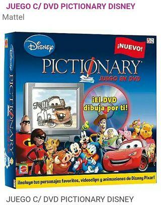 Juego Disney Pictionary DvD