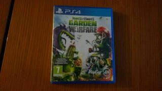 juego ps4 plants zombies garden warfare