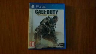 juego ps4 call of duty advanced warfare
