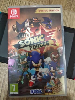JUEGO NINTENDO SWITCH SONIC FORCES