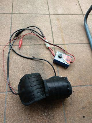 calentador ruedas coche rc