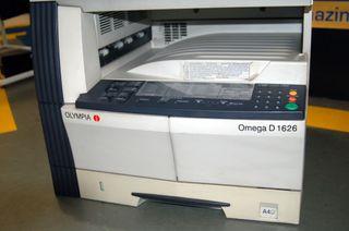impresora OLYMPIA OMEGA D 1626 -KM-1620 sin toner