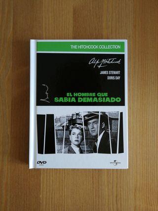 Libro DVD Alfred Hitchcock
