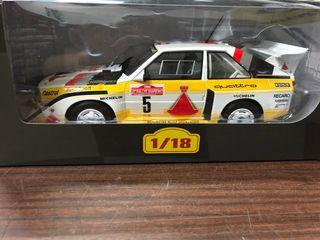 Audi gr.b escala 1/18
