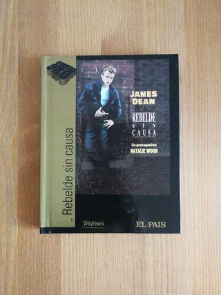 Libro DVD Rebelde sin causa