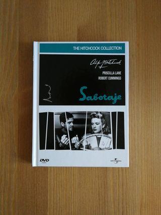 Libro DVD Sabotaje