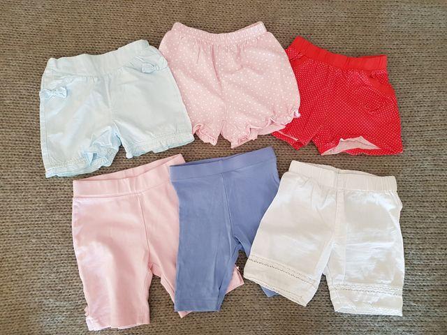 1f1363456 Lote de pantalones cortos nina talla 3-6 meses. de segunda mano por ...