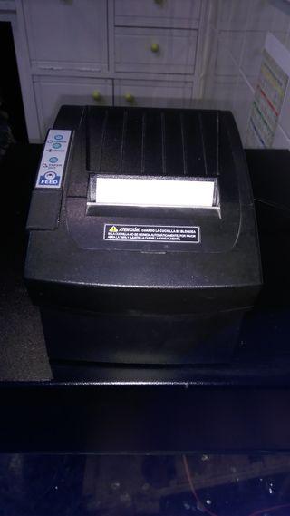 Impresora tiquets + cajon portamonedas