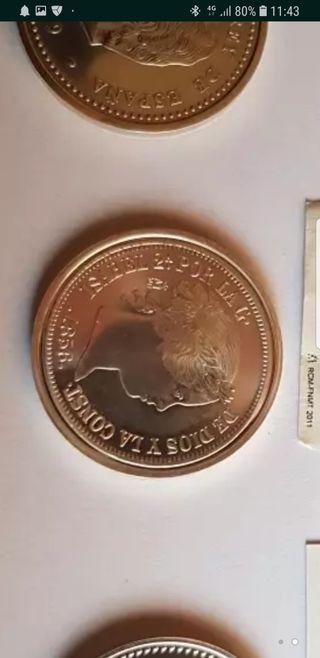 moneda de plata de 20 reales