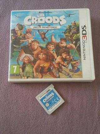 los croods nintendo 3ds