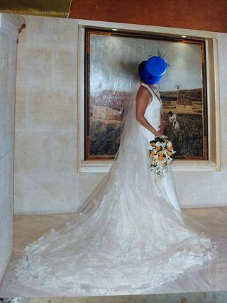 vestido de novia de segunda mano en algeciras en wallapop