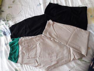 pantalones ajustados y leggins