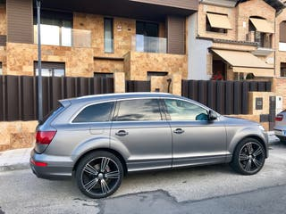 Audi Q7 restyling 2012 preparación RSQ7
