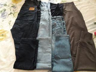 lote pantalones premama