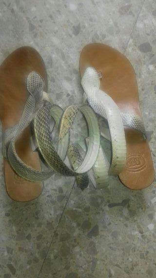 Sandalias mujer39 cuero