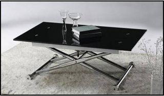 Mesa de centro Elevable Cristal