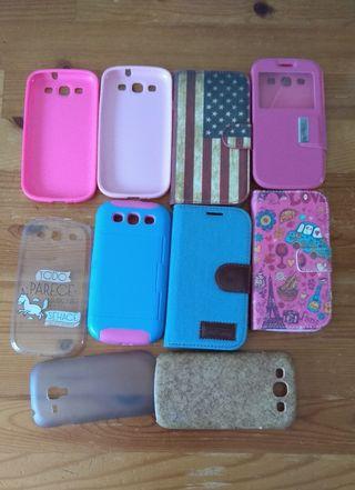 Carcasas Samsung Galaxy S3 mini (10 unidades) 3€