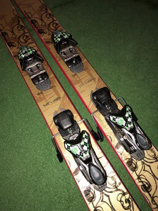 Volkl freeride skis