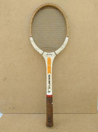 Raqueta vintage Dunlop.
