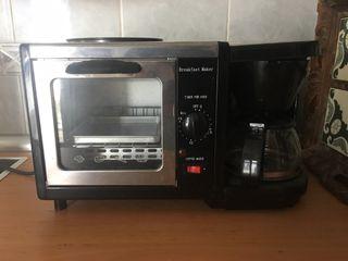 Cafetera tostadora