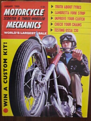Revista Motorcycle Mechanics-Prueba Ossa 230 Sport