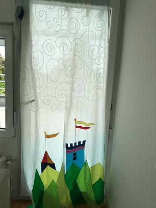 2Cortinas habitación infantil