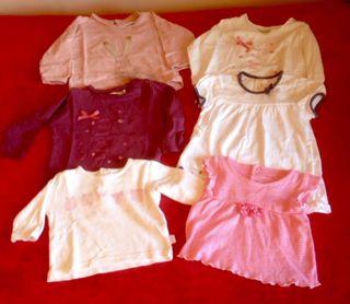 Lote camisetas bebé