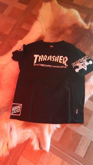Thrasher x Sandro Dias