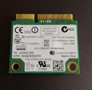 Tarjeta de red WiFi Intel centrino n-2200